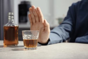 individual who is not sure how to stop drinking